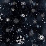 雪の結晶|折り紙|肉眼でも見れる動画