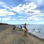 稲毛海水浴場レポート「いなげの浜海水浴場」波の様子|混み具合は?|千葉市海水浴場